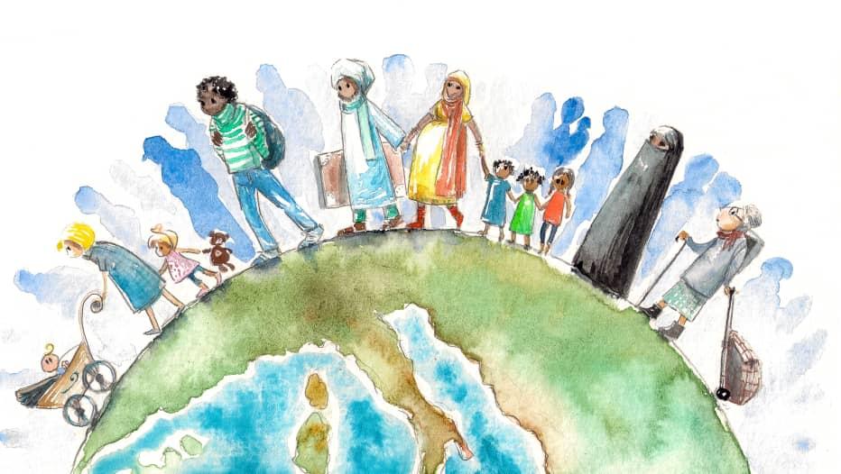 Sociedad abierta, fronteras abiertas – Sara Fadi y Fabiola Pérez