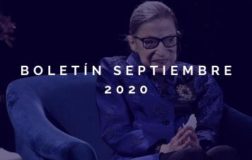 Boletín Mensual – Septiembre 2020